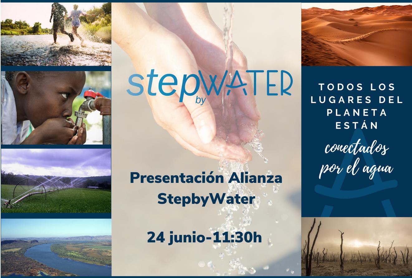 Inscripción para la Presentación de StepbyWater