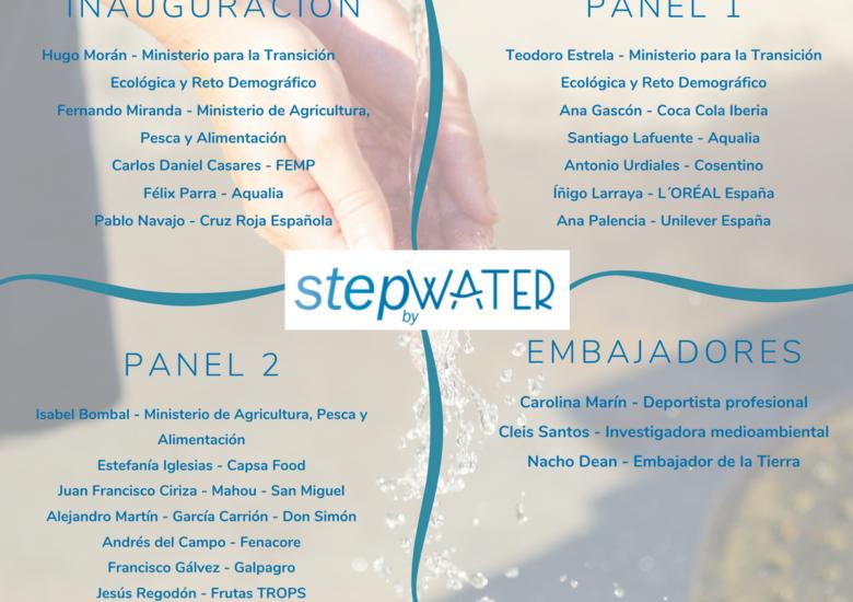 Presentamos a la sociedad #StepbyWater