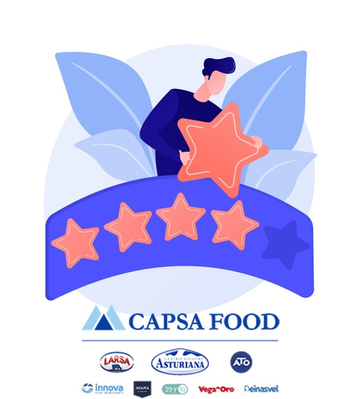 "CAPSA FOOD, certificada como empresa ""Top Employer"""