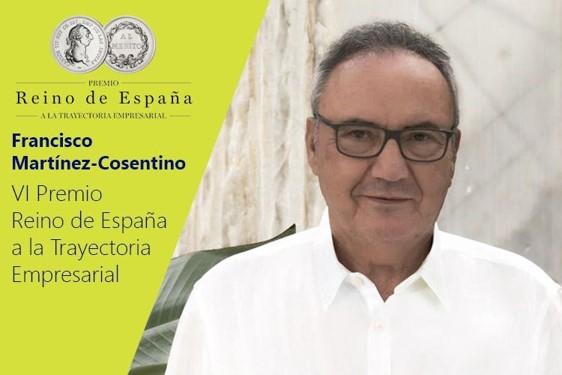 Francisco Martínez-Cosentino gana el VI Premio Reino de España