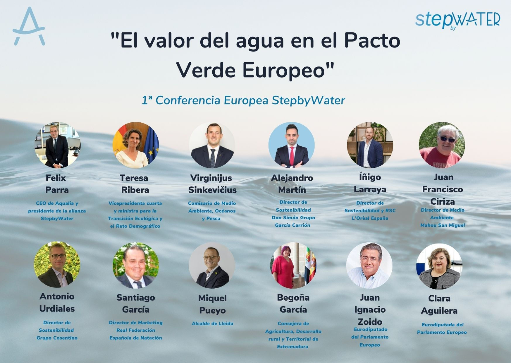 PROGRAMA 1ª CONFERENCIA EUROPEA STEPBYWATER